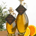 Arbequina Olives Pressed with Fresh Oranges